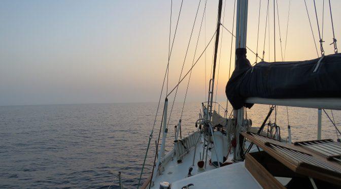 Segling till Sicilien 2016